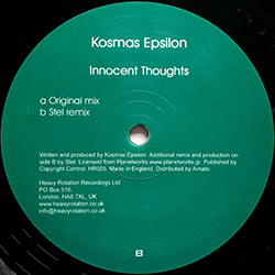 Kosmas Epsilon - Innocent Thoughts